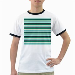 Stripey 14 Ringer T by anthromahe
