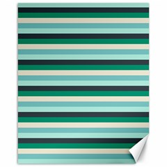 Stripey 14 Canvas 16  X 20  by anthromahe