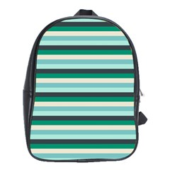 Stripey 14 School Bag (xl) by anthromahe
