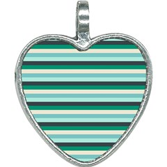 Stripey 14 Heart Necklace by anthromahe