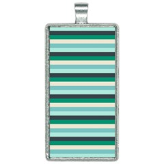 Stripey 14 Rectangle Necklace