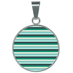 Stripey 14 25mm Round Necklace by anthromahe