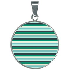 Stripey 14 30mm Round Necklace by anthromahe