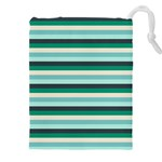 Stripey 14 Drawstring Pouch (3XL) Front