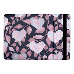 Navy Floral Hearts Samsung Galaxy Tab Pro 10 1  Flip Case by mccallacoulture