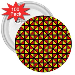 RBY-B-8 3  Buttons (100 pack)