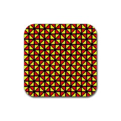 RBY-B-8 Rubber Square Coaster (4 pack)