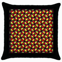 RBY-B-8 Throw Pillow Case (Black)