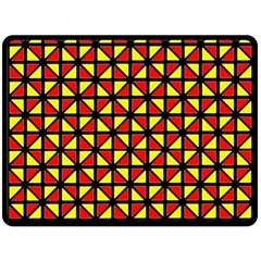 RBY-B-8 Double Sided Fleece Blanket (Large)
