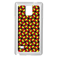 RBY-B-8 Samsung Galaxy Note 4 Case (White)