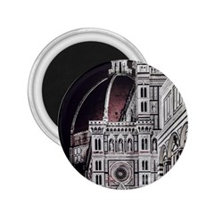 Santa Maria Del Fiore  Cathedral At Night, Florence Italy 2 25  Magnets by dflcprints