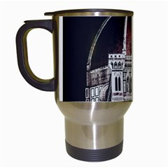 Santa Maria Del Fiore  Cathedral At Night, Florence Italy Travel Mugs (white) by dflcprints