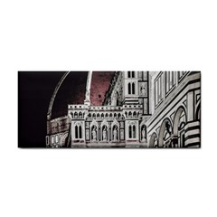 Santa Maria Del Fiore  Cathedral At Night, Florence Italy Hand Towel by dflcprints