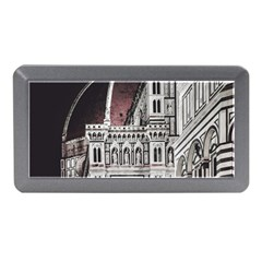 Santa Maria Del Fiore  Cathedral At Night, Florence Italy Memory Card Reader (mini) by dflcprints