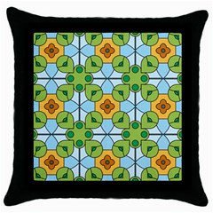 Df Artisano Vision Throw Pillow Case (black)