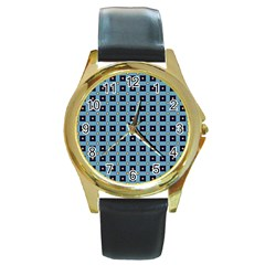 Df Teo Marini Round Gold Metal Watch by deformigo