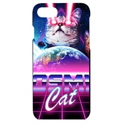 Cosmic Cat Iphone 7/8 Black Uv Print Case