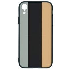 Stripey 16 Iphone Xr Soft Bumper Uv Case by anthromahe