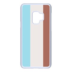 Stripey 17 Samsung Galaxy S9 Seamless Case(white) by anthromahe