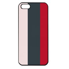 Stripey 18 Iphone 5 Seamless Case (black) by anthromahe