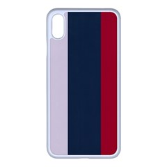 Stripey 18 Iphone Xs Max Seamless Case (white) by anthromahe