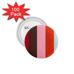 Stripey 19 1 75  Buttons (100 Pack)  by anthromahe