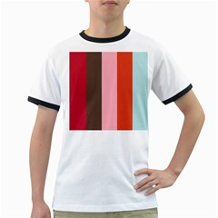 Stripey 19 Ringer T by anthromahe