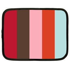 Stripey 19 Netbook Case (xl) by anthromahe