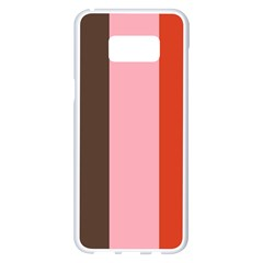 Stripey 19 Samsung Galaxy S8 Plus White Seamless Case by anthromahe