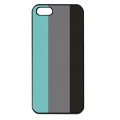 Stripey 20 Iphone 5 Seamless Case (black) by anthromahe