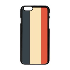 Stripey 22 Iphone 6/6s Black Enamel Case by anthromahe