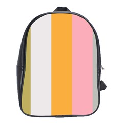 Stripey 23 School Bag (large) by anthromahe
