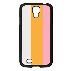 Stripey 23 Samsung Galaxy S4 I9500/ I9505 Case (black) by anthromahe