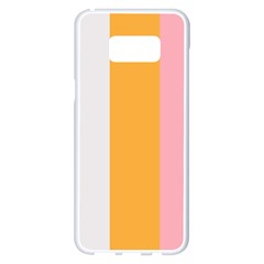 Stripey 23 Samsung Galaxy S8 Plus White Seamless Case by anthromahe