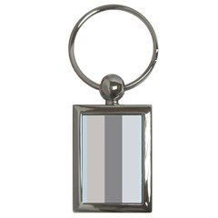 Stripey 24 Key Chain (rectangle) by anthromahe