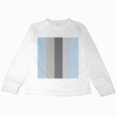 Stripey 24 Kids Long Sleeve T-shirts by anthromahe