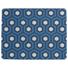 Blue Hexagon Jigsaw Puzzle Photo Stand (rectangular)
