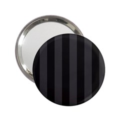 Black Stripes 2 25  Handbag Mirrors