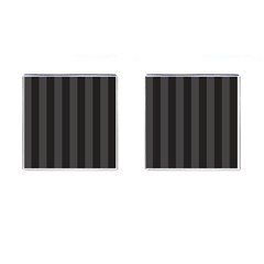 Black Stripes Cufflinks (square)