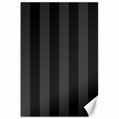 Black Stripes Canvas 20  X 30