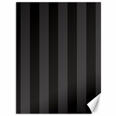 Black Stripes Canvas 36  X 48