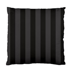 Black Stripes Standard Cushion Case (one Side)