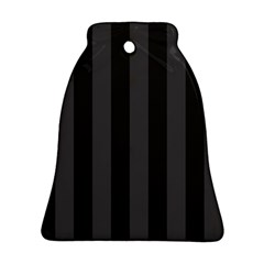 Black Stripes Ornament (bell)