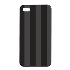 Black Stripes Iphone 4/4s Seamless Case (black)