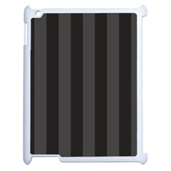 Black Stripes Apple Ipad 2 Case (white)