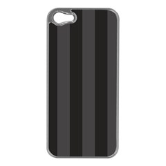 Black Stripes Iphone 5 Case (silver)