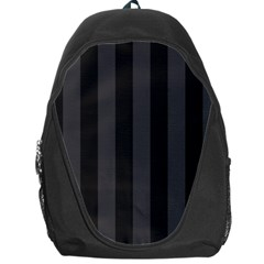 Black Stripes Backpack Bag