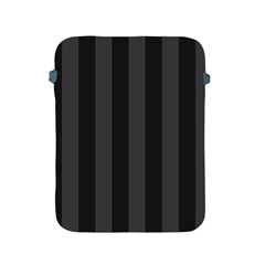 Black Stripes Apple Ipad 2/3/4 Protective Soft Cases