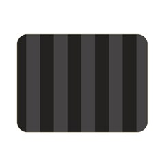 Black Stripes Double Sided Flano Blanket (mini)