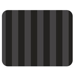 Black Stripes Double Sided Flano Blanket (medium)